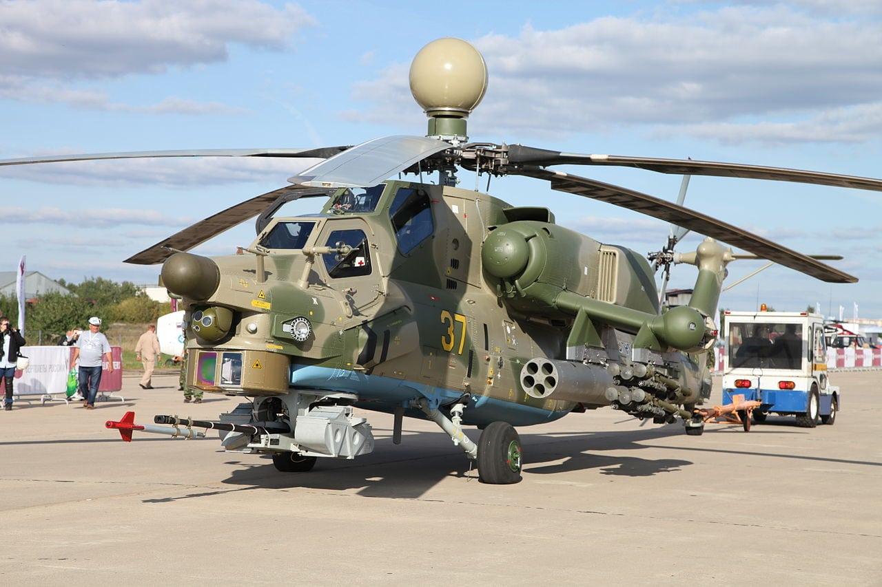 Prototype attack version of the Mi-28
