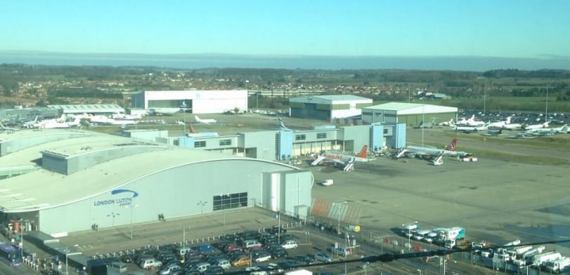 View from the London Luton control tower