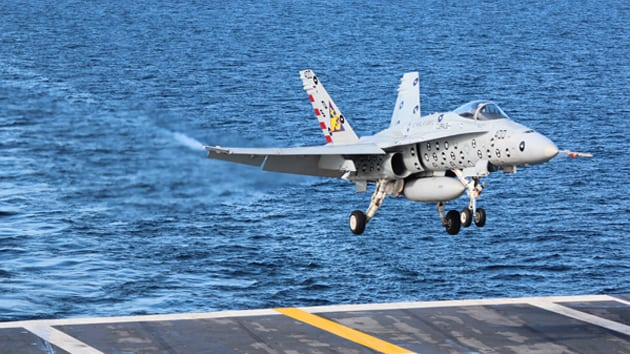 JPALS helps carrier-based pilots accomplish challenging missions using a ship-based precision approach and landing system that support all-weather operations