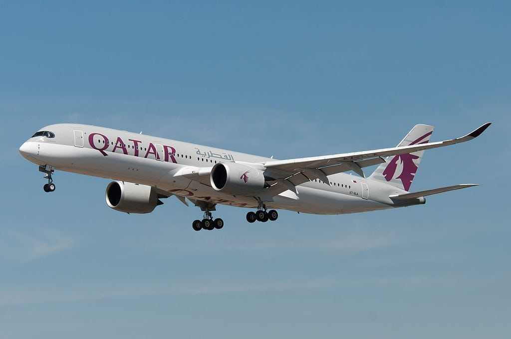 Qatar Airways Jet