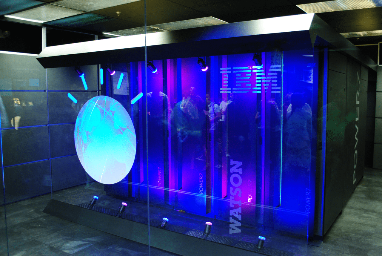 An early prototype of IBM's Watson cognitive computer system. Photo: Wikimedia