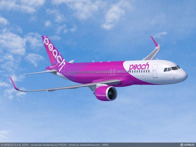 Peach Aviation Airbus A320neo