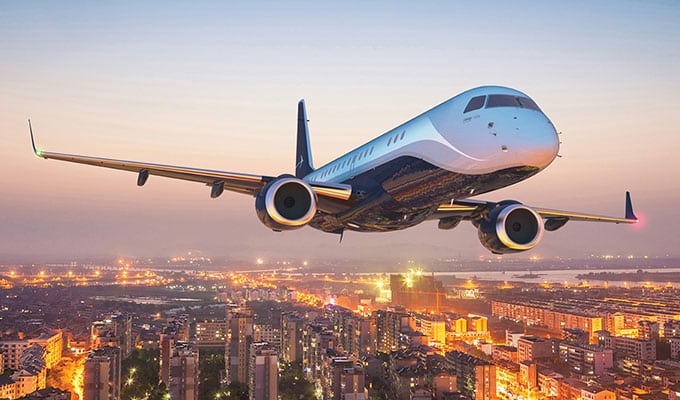 Lineage 1000E Ultra Large Business Jet