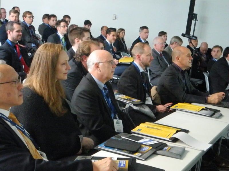 Attendees at the 2016 Aviation Electronics Europe conference.