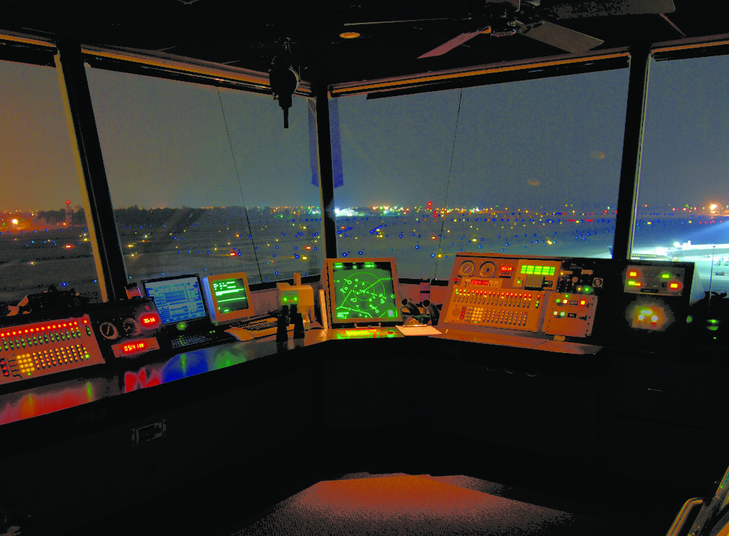 Fresno, California Air Traffic Control Tower. Photo: NATCA.