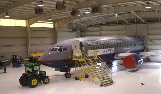 Kaney Aerospace 14 CFR Part 145 Repair Station. Photo: Kaney Aerospace.