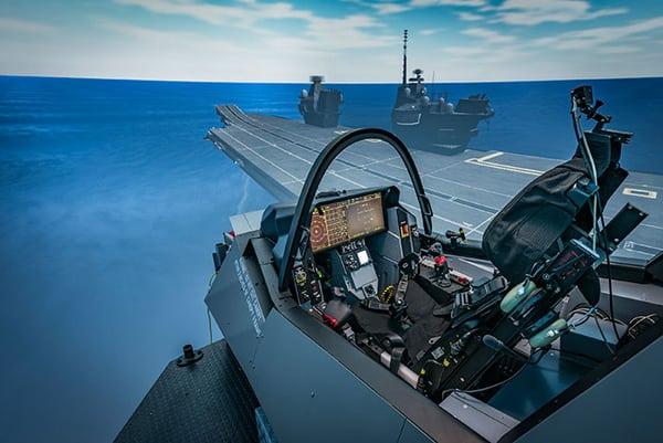 BAE systems F-35 sim