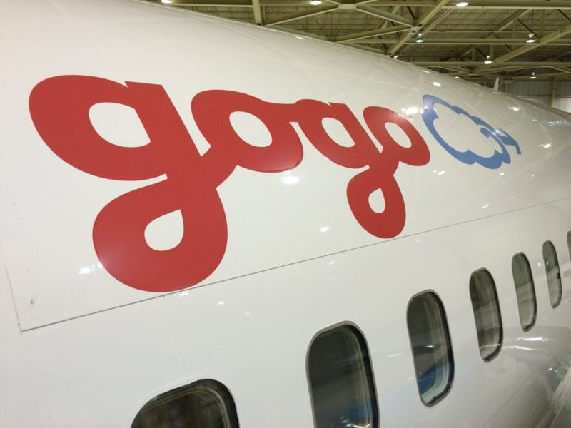 Gogo test aircraft. Photo: Gogo.