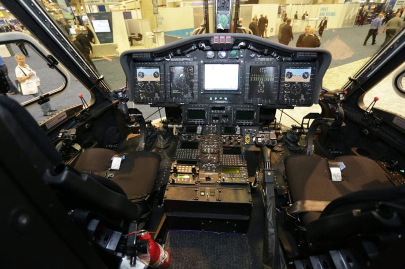 Korean Coastguard Cockpit