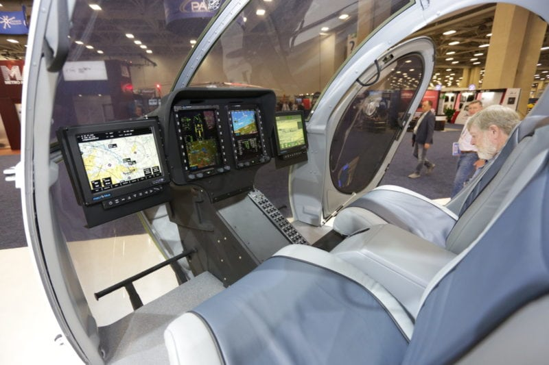 MD 6XX cockpit.