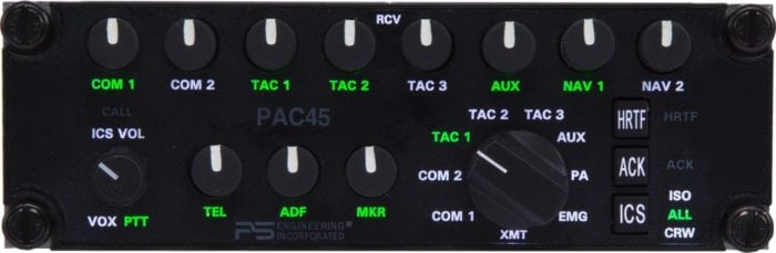 PS Engineering's PAC45 with Multi-Talker processing. Photo: PS Engineering.