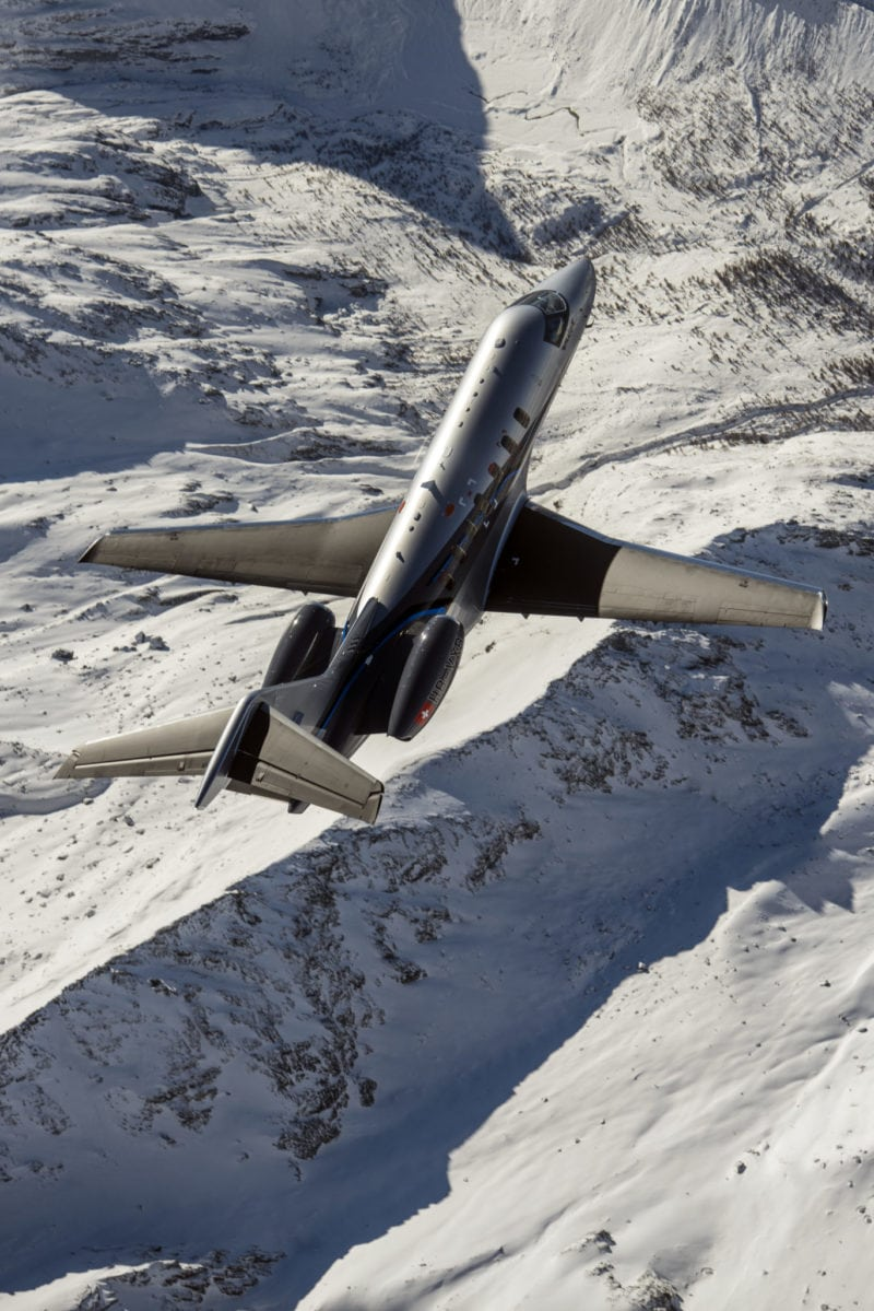 A Pilatus PC-24 business jet. Photo: Pilatus.