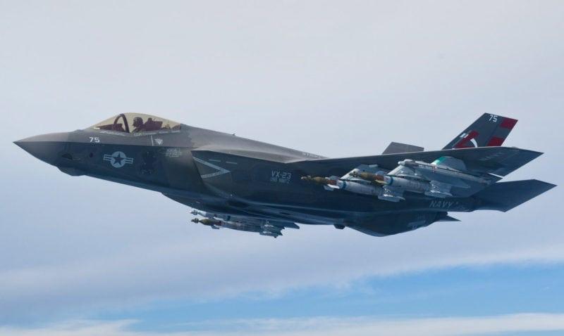 F-35. Photo: Harris Corp.