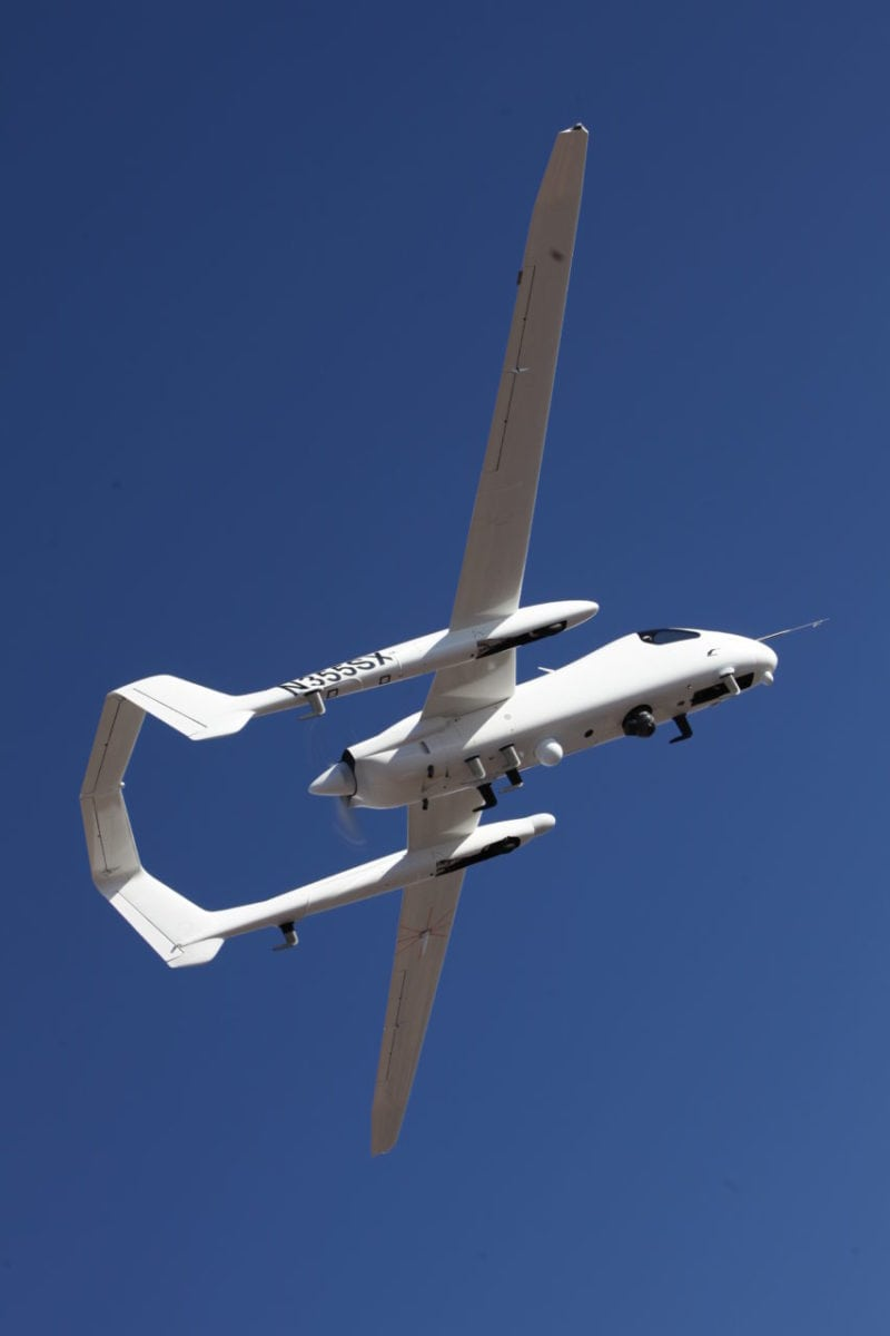 Firebird 5 UAS. Photo: Northrop Grumman.
