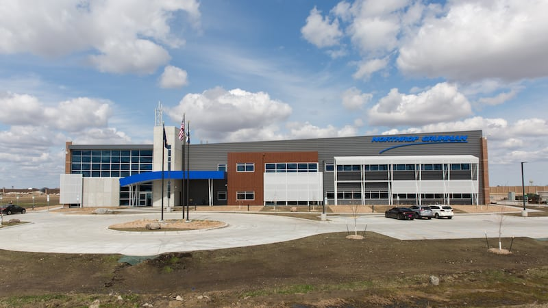 Northrop Grumman's new UAS research center in North Dakota. Photo: Northrop Grumman.