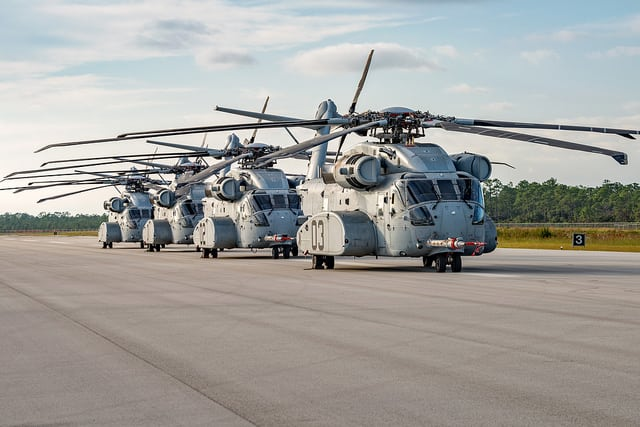 CH-53Ks. Photo: Lockheed Martin.