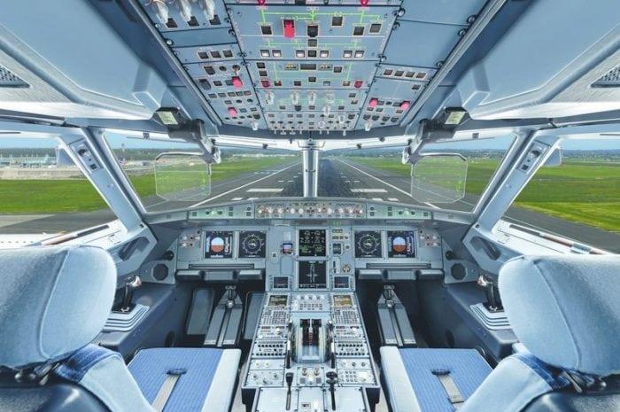 Airbus A320 cockpit. Photo: Airbus.