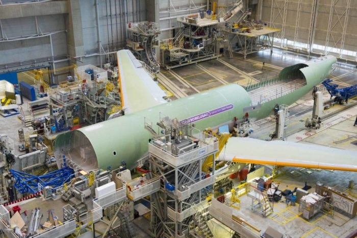 Airbus manufacturing facility. Photo: Airbus.