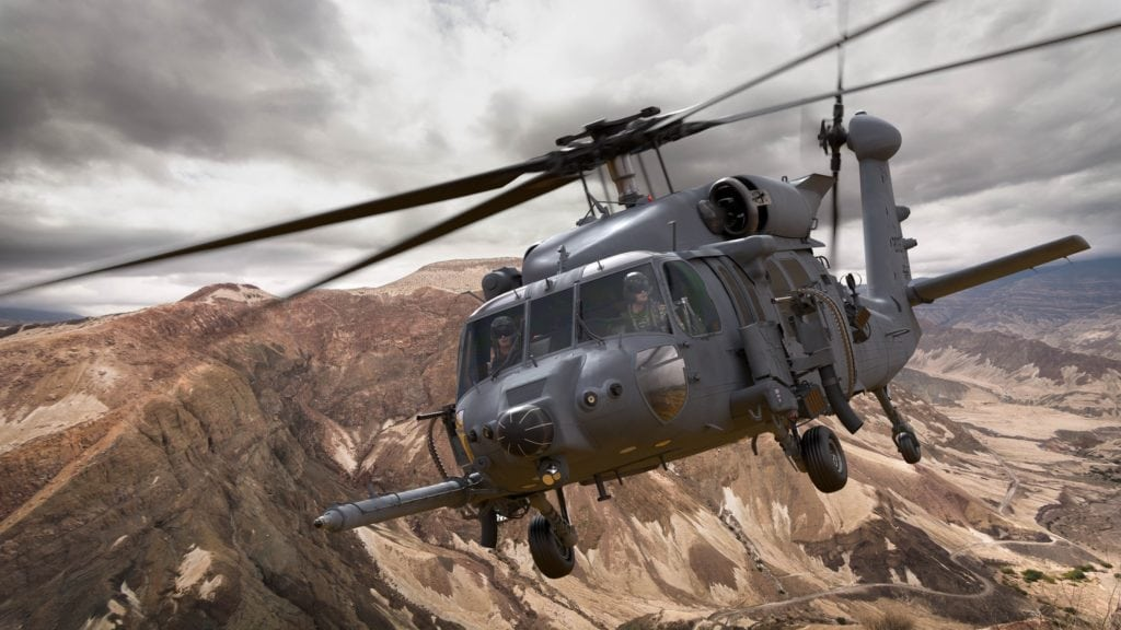The Combat Rescue Helicopter, designed by Sikorsky, a Lockheed Martin company, will perform critical combat search and rescue and personnel recovery operations for all U.S. military services. Artist rendering courtesy of Sikorsky. (PRNewsfoto/Lockheed Martin)