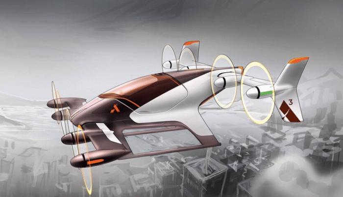 Airbus Vahana concept.