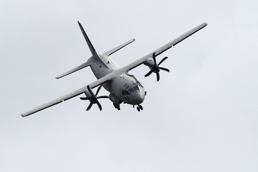 By Ronnie Macdonald from Chelmsford, United Kingdom (Alenia C-27J Spartan 1) [CC BY 2.0 (http://creativecommons.org/licenses/by/2.0)], via Wikimedia Commons