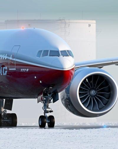 Boeing 777-9X. Photo: Boeing.