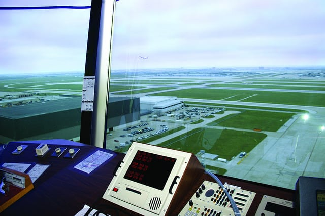 Dallas/Fort Worth (DFW) air traffic control tower. Photo: National Air Traffic Controllers Association (NATCA).