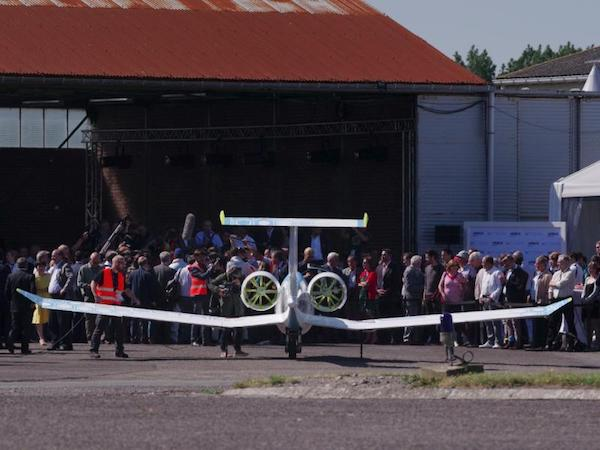 The Airbus E-Fan Demonstrator. Photo: Airbus.