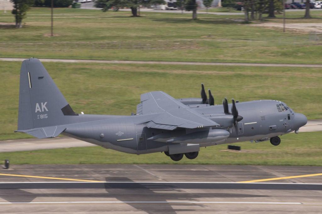 The U.S. Air National Guard received its first HC-130J Combat King II today. Photographer Amanda Mills, Lockheed Martin. (PRNewsfoto/Lockheed Martin Aeronautics...)