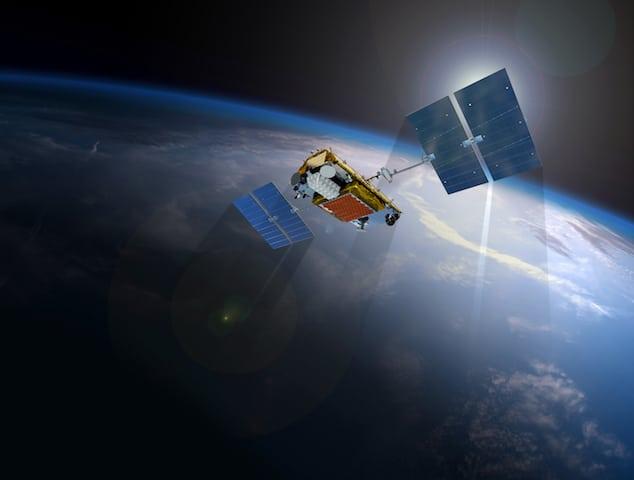 Iridium NEXT satellite. Photo: Iridium.