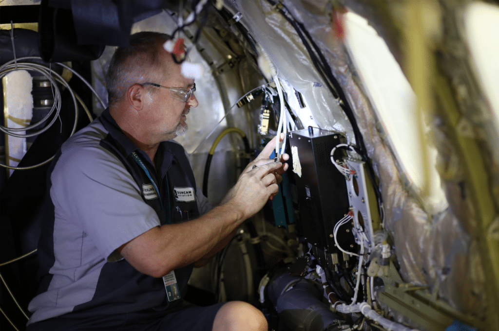 Duncan Aviation maintenance