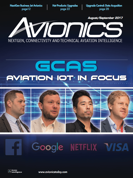 Avionics August/September 2017 Cover