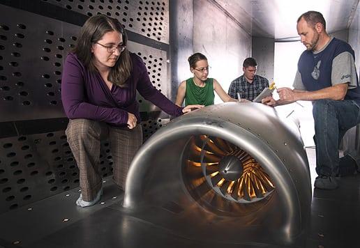 SAE International NASA test rig