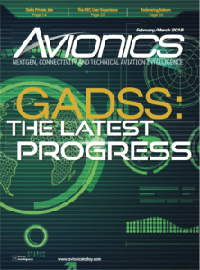 Avionics Magazine February/March 2018 Issue Cover