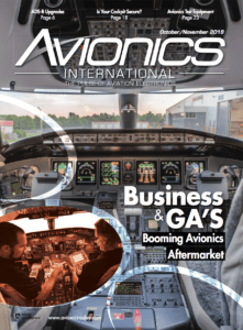 Avionics International October/November 2018 Cover
