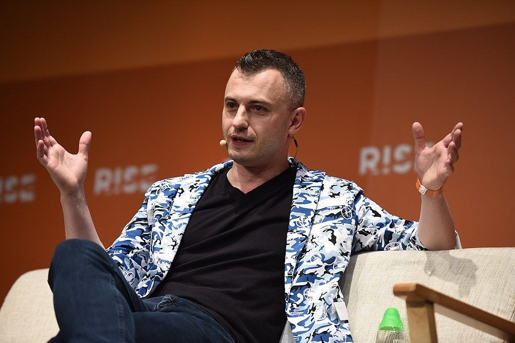 Paul Eremenko, CTO, Airbus, on Center stage during day three of RISE 2017 in Hong Kong. Photo by Stephen McCarthy / RISE / SportsfilePublic domain photo by Stephen McCarthy, RISE.