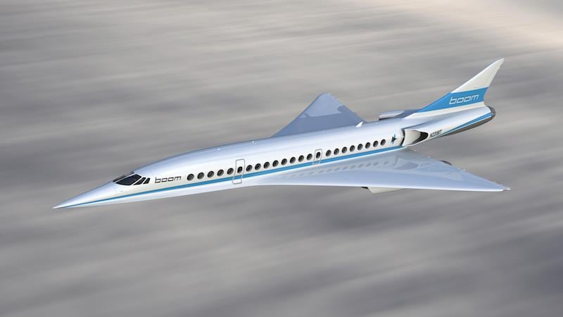 Image courtesy of Japan Airlines and Boom Supersonic