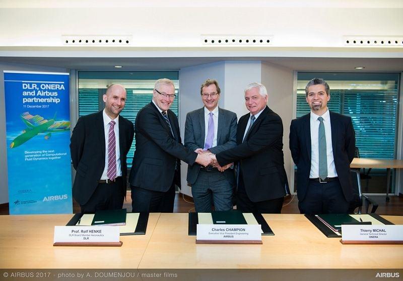 airbus dlr onera partnership signing