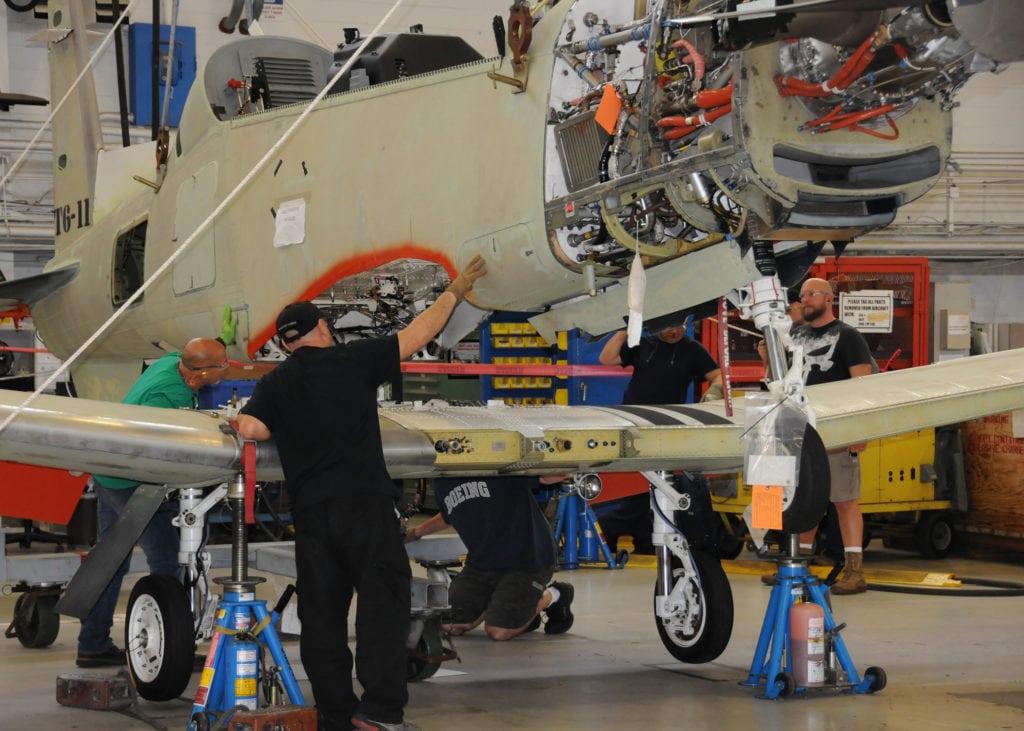Fleet Readiness Center T-6 Texan