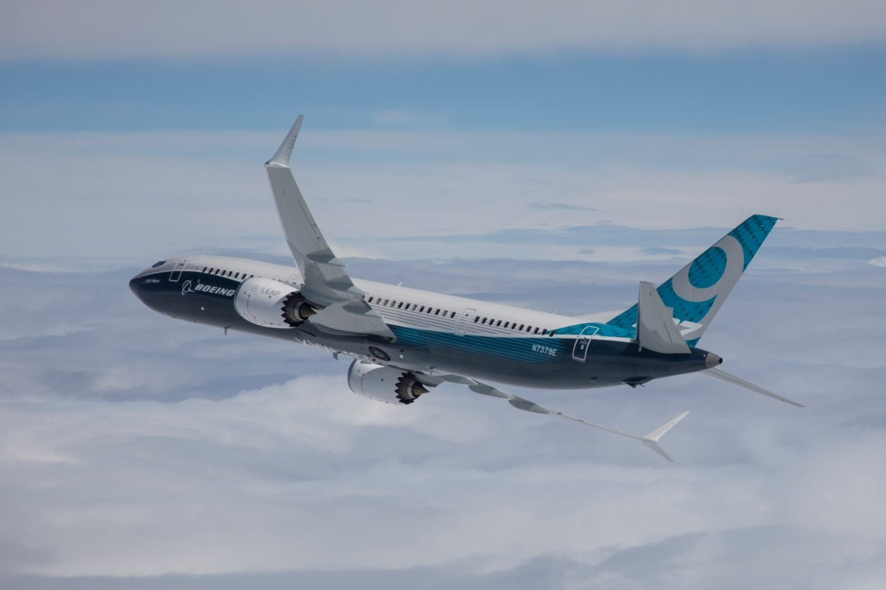 Boeing 737 MAX 9, second MAX variant, certified by FAA