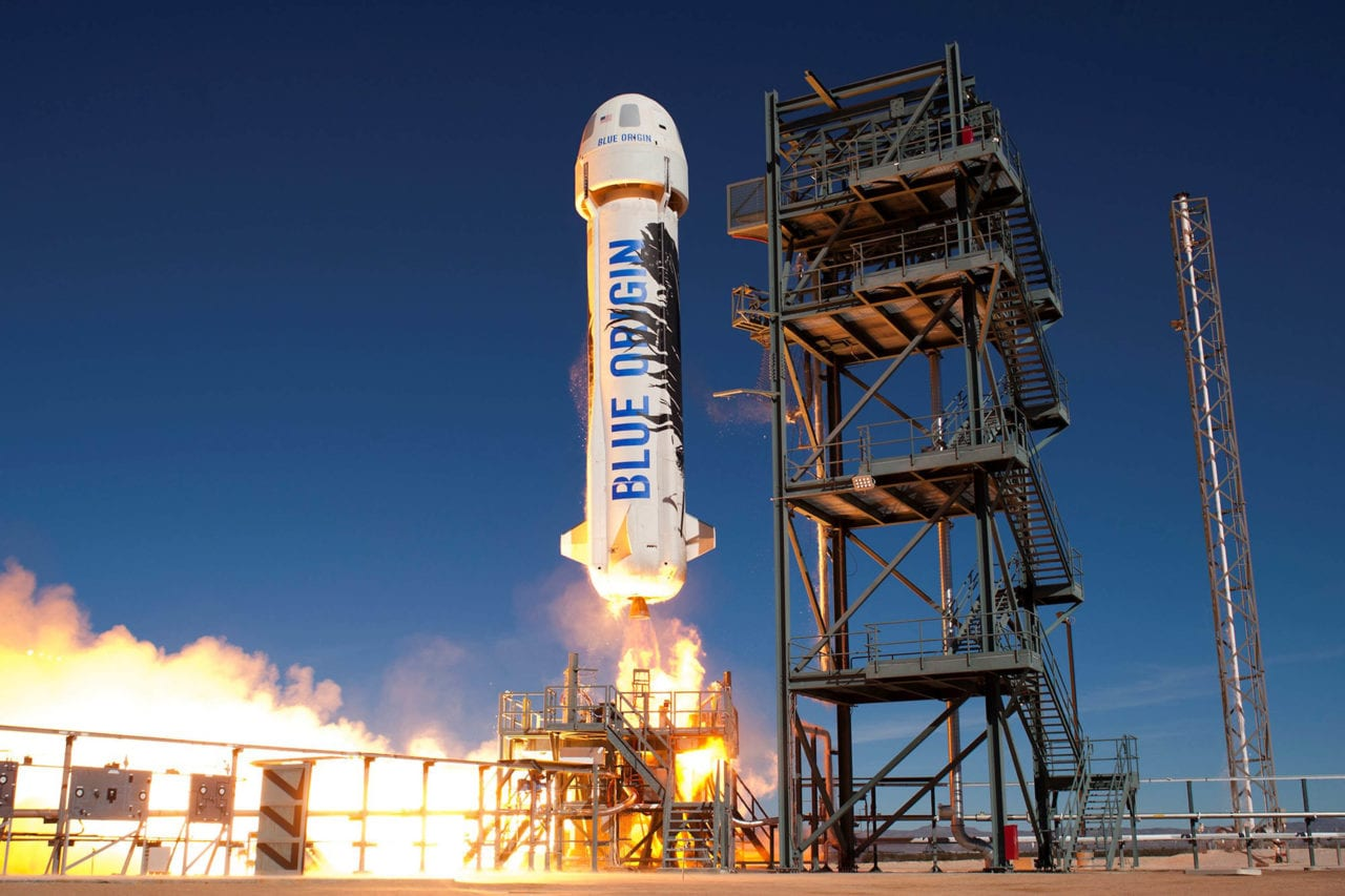 Blue Origin launch