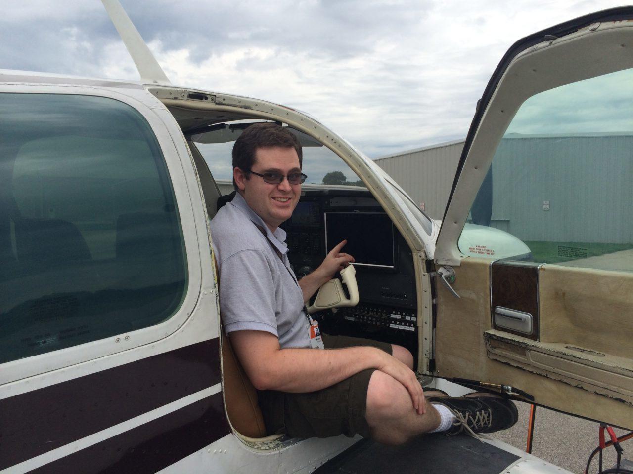 Brian cockpit