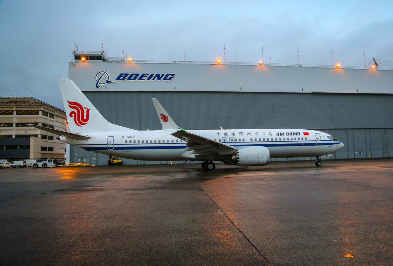 737 Max 8 Air China