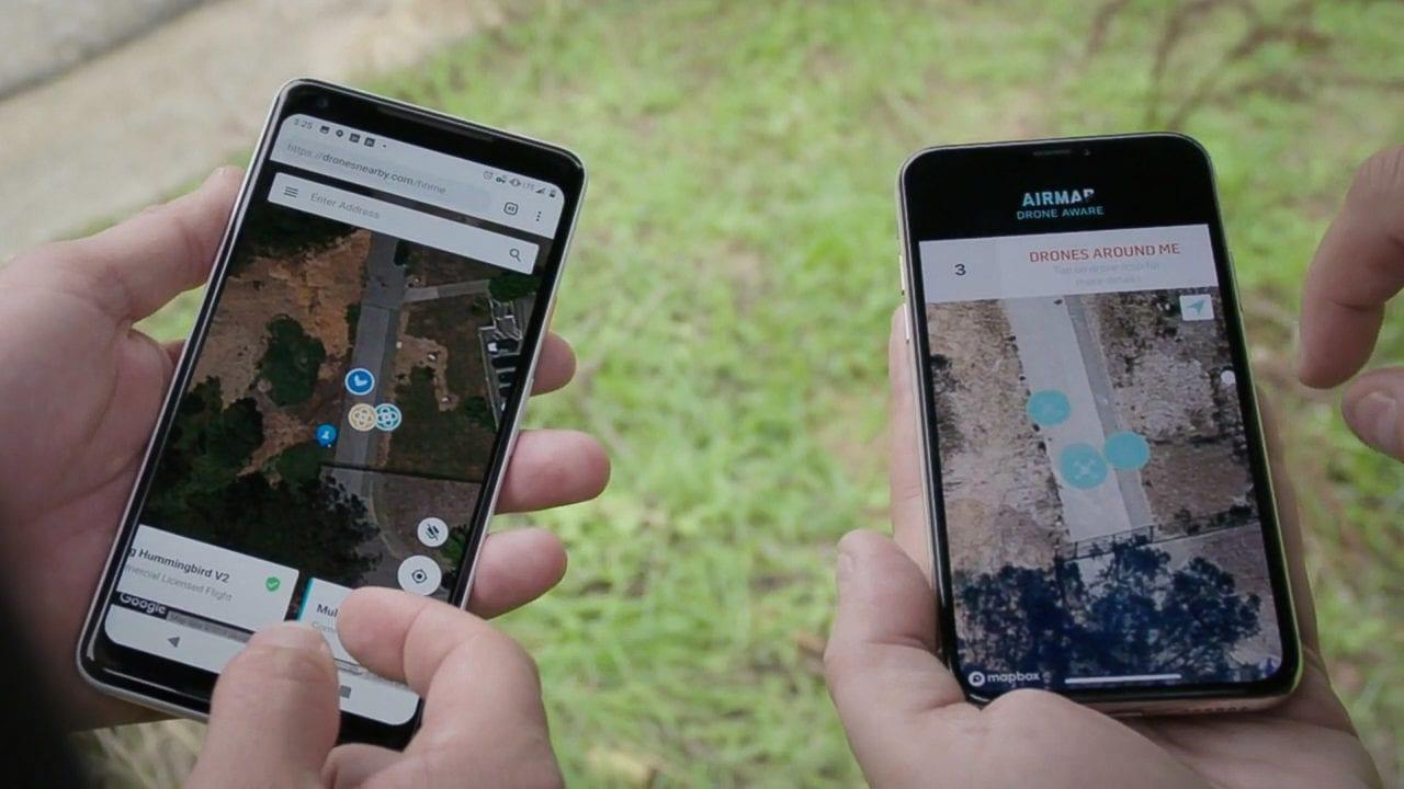 Airmap drone interuss
