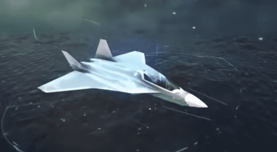 A rendering of the planned Airbus-Dassault sixth-generation fighter. (Airbus)