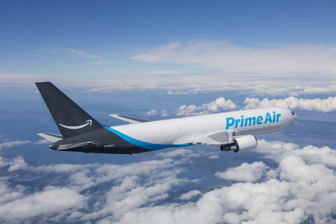 Amazon Prime Air Boeing 767. (Chad Slattery/Amazon)