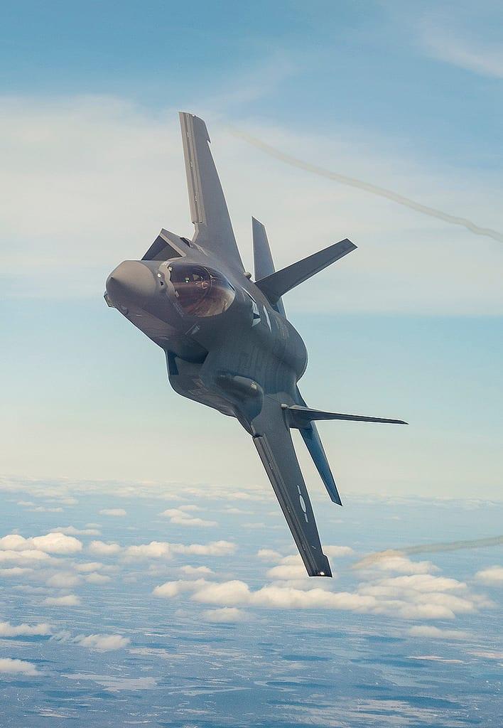 An F-35A debuting at the Republic of Korea Air Force. (Lockheed Martin)