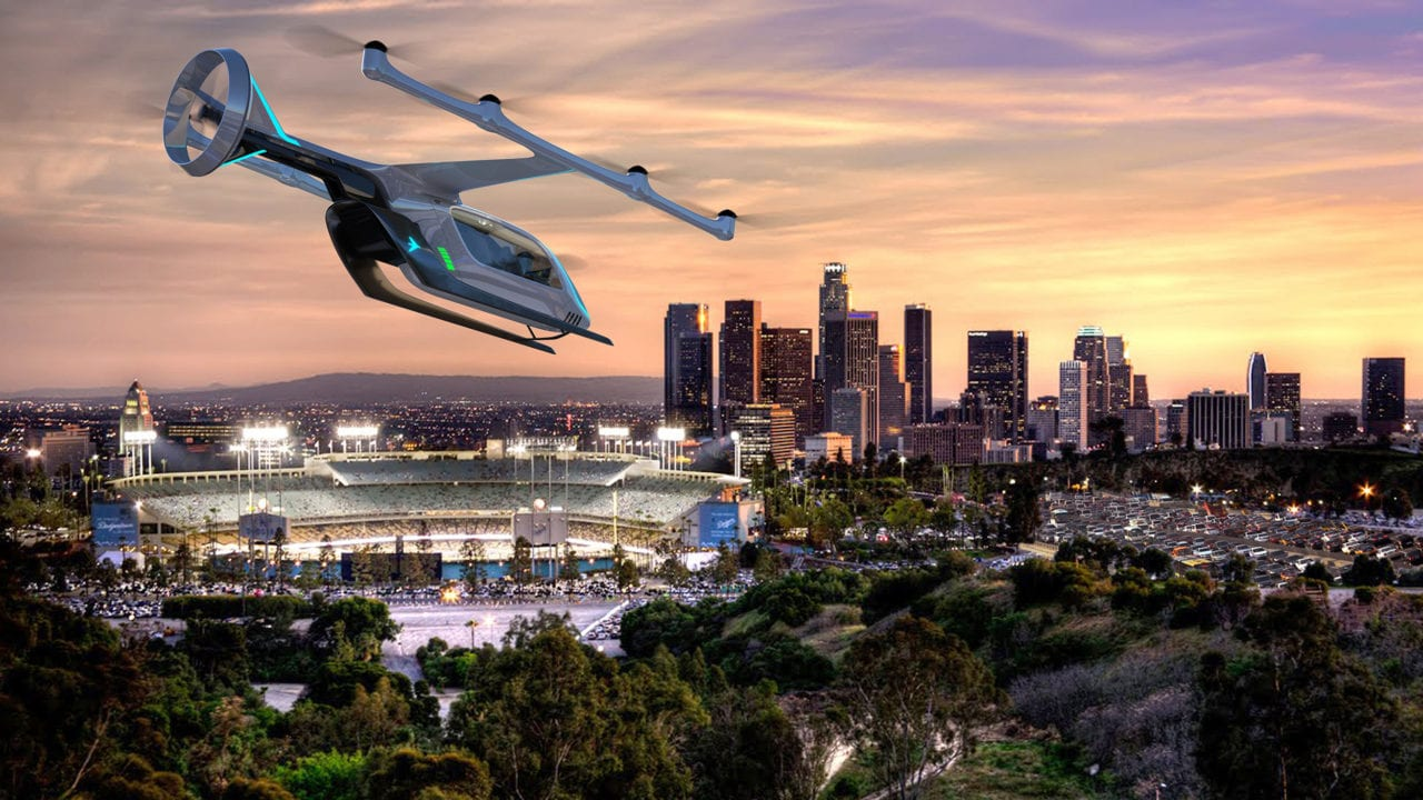 The distributed-propulsion EVTOL concept Embraer-X is developing for Uber. (Embraer-X)