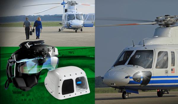 UA's enhanced flight vision system. (Universal Avionics)