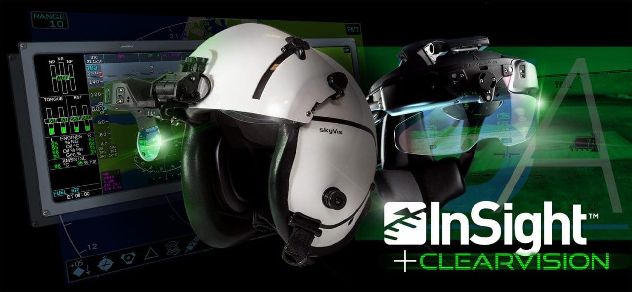 UA's InSight + ClearVision solution. (Universal Avionics)
